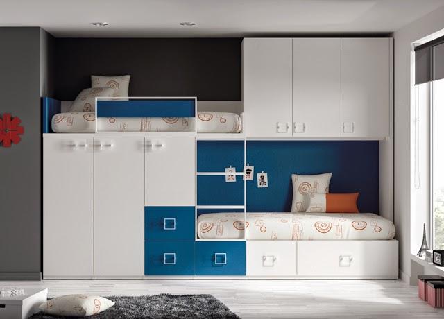 Dormitorios infantiles y juveniles para ni as ni os y - Camas para ninos de dos anos ...