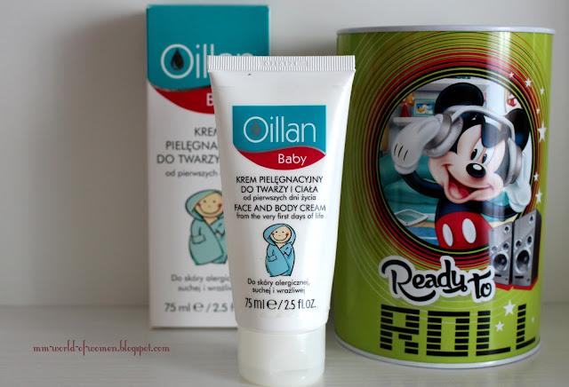 Oillan Baby - krem pielęgnacyjny do twarzy i ciała