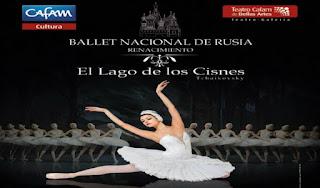 """""""EL LAGO DE LOS CISNES"""" Ballet Nacional de Rusia en Bogotá"""