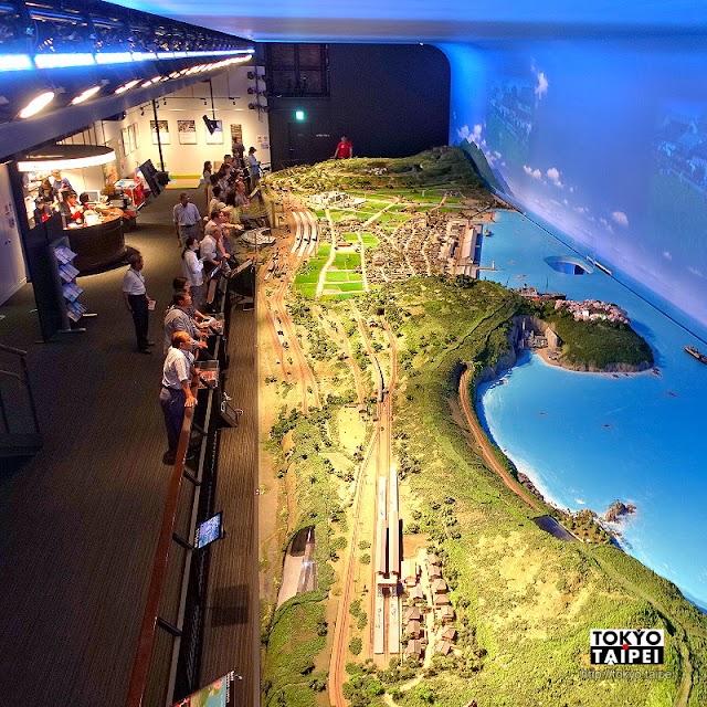 【敦賀紅磚倉庫】港邊百年石油倉庫改造 展示超華麗鐵道立體模型