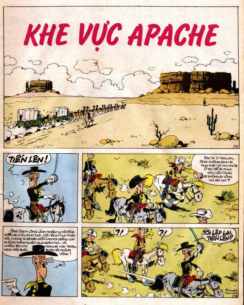 Lucky Luke tap 12 - khe vuc apache trang 1