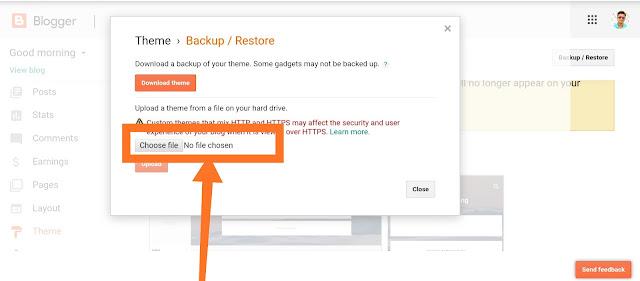 Blogger template change करते समय ध्यान देने वाली बाते :-