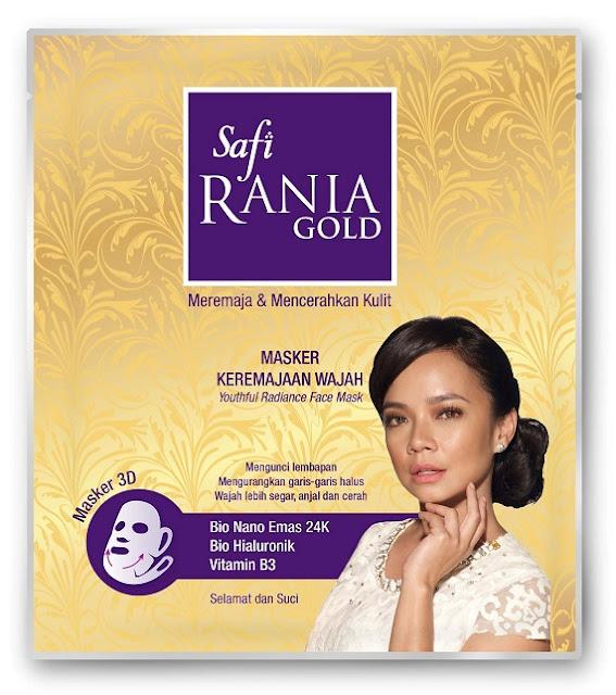 Masker Keremajaan Wajah SAFI RANIA Gold RM6.90