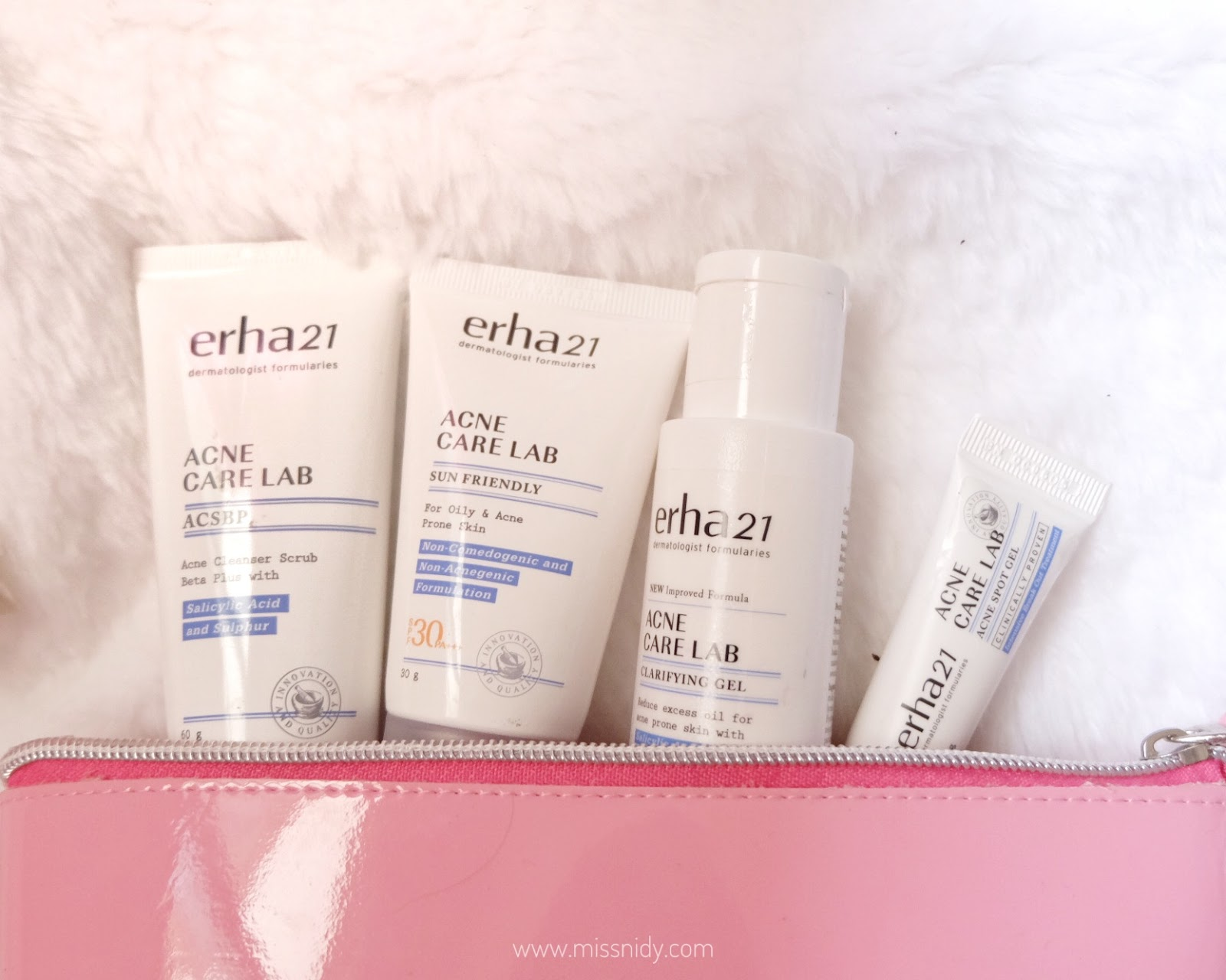 review erha acne care lab