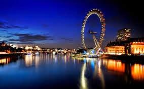 عين عجلة لندن london eye