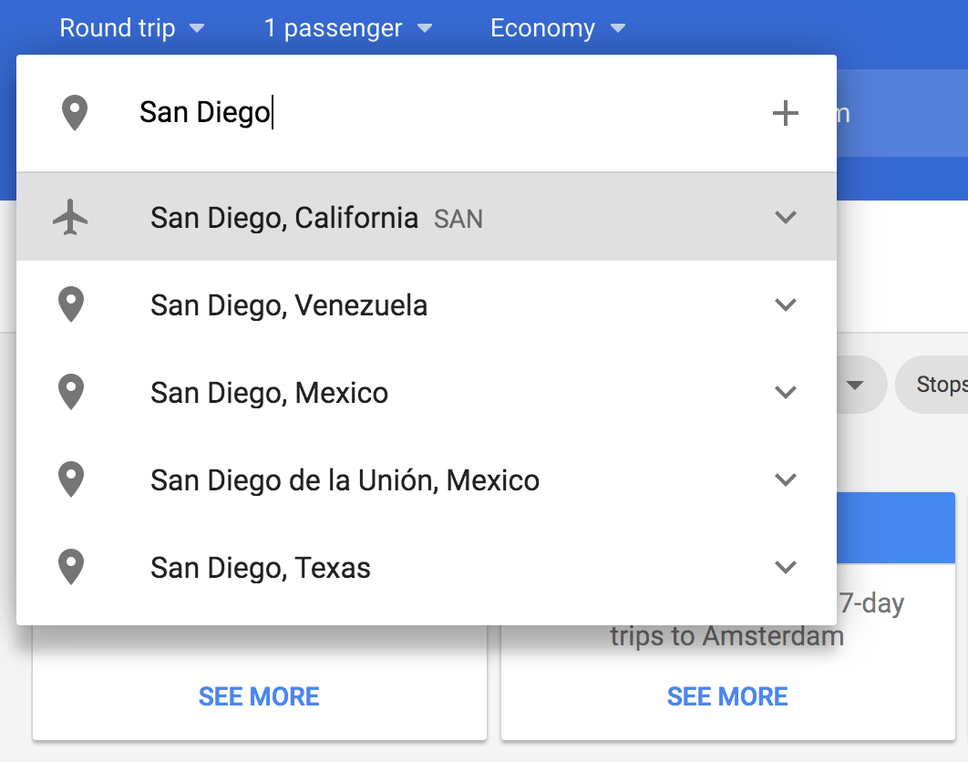 Google flights flight scanner tips