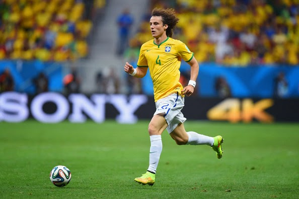 ALL SPORTS PLAYERS: David Luiz Hd Wallpapers 2014