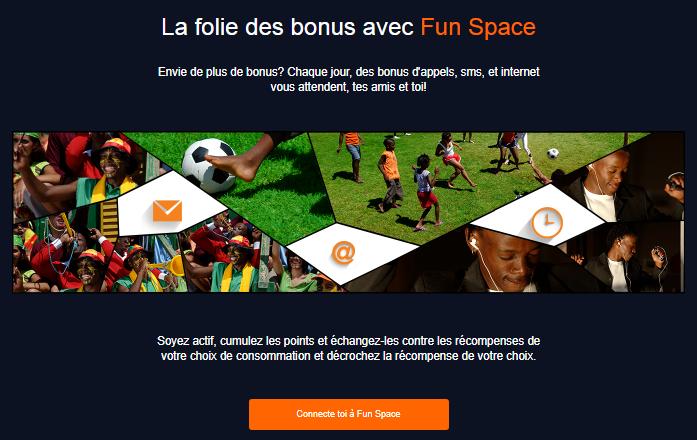 orange funspace avoir internet gratuit 3g 4g appels sms