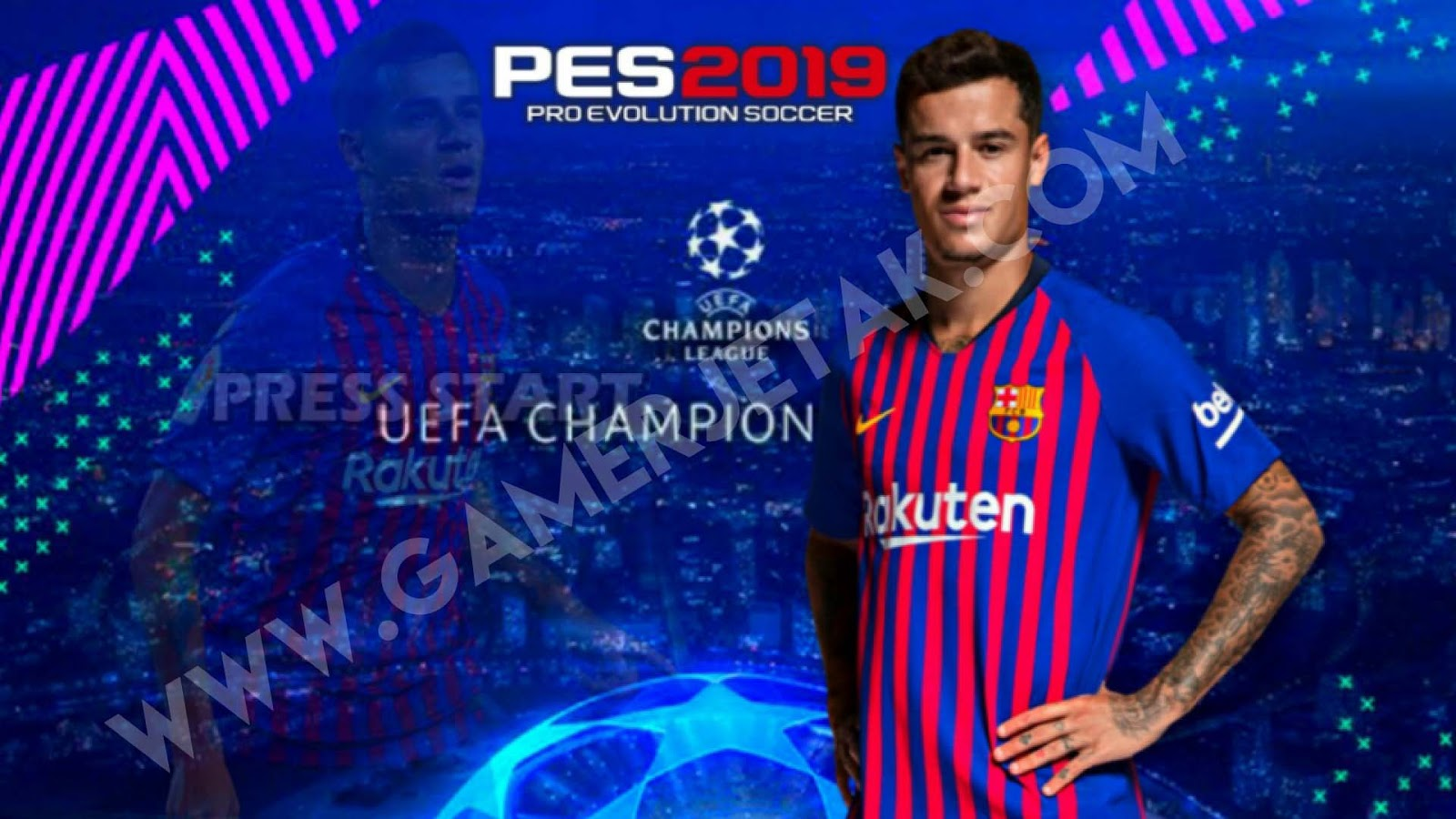 Download Pes 2019 Lite Android Mod UEFA Champion Ppsspp Update