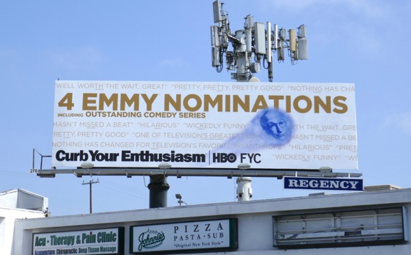 Curb Your Enthusiasm season 9 Emmy nominee billboard