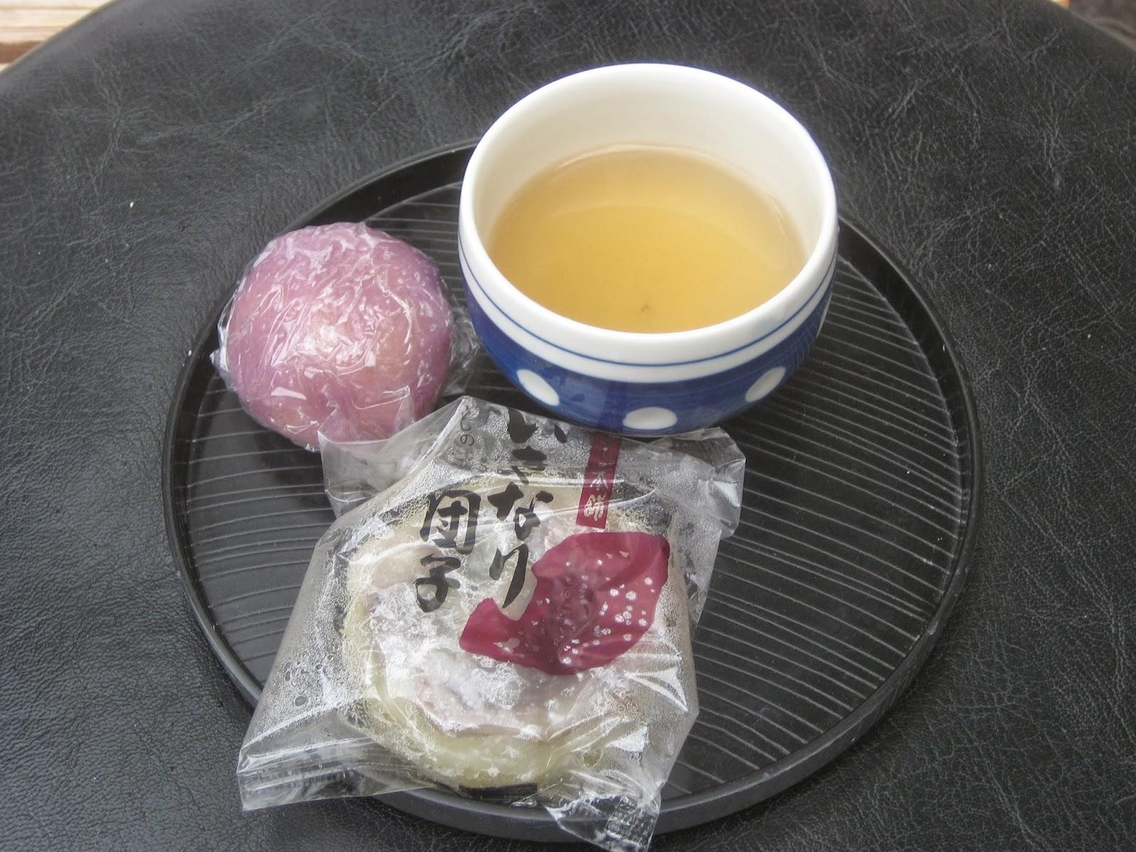 出来立ての熱々で美味しかった。 お茶のサービス。 両方で190円。 太... 海外・国内旅行報告
