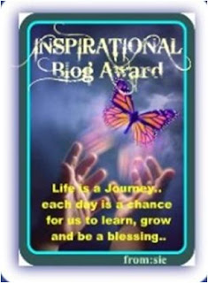 luxury haven inspirational blog award