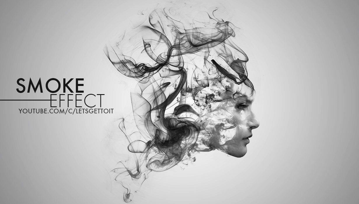 Free photoshop tutorials create an awesome smoke photo effect in photoshop baditri Image collections