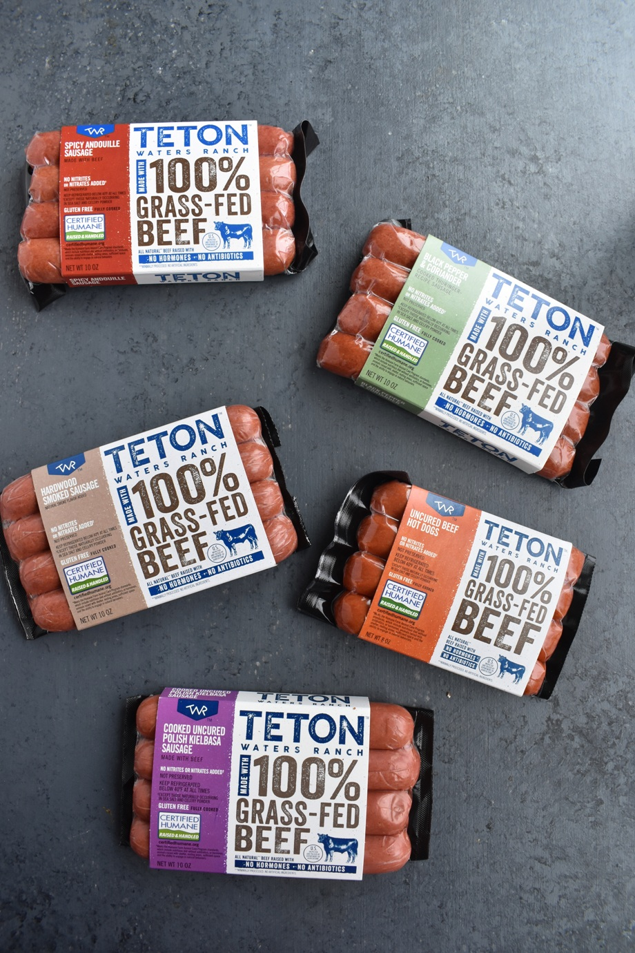 Teton Waters Ranch Sausage and Hot dogs