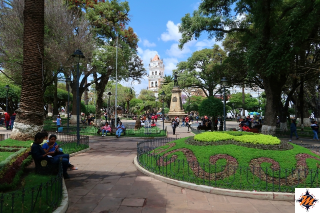 Sucre, Plaza 25 de Mayo