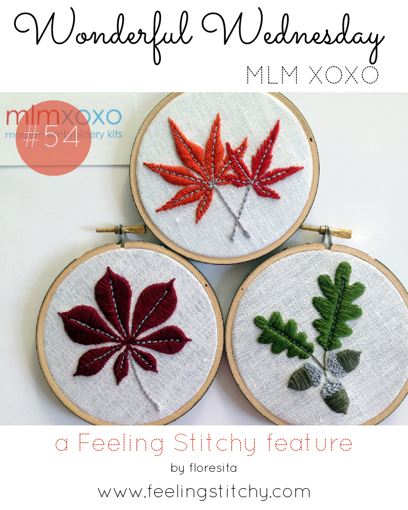 Wonderful Wednesday 54 - MLM XOXO featured by floresita on Feeling Stitchy