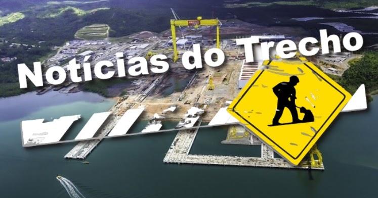 Resultado de imagem para Estaleiro Enseada noticias trecho
