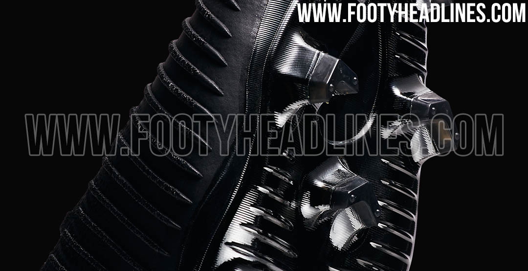 4f9d01859a7 Nike today released the all-new Black   Silver Metallic Nike Flyknit Ultra  soccer boots