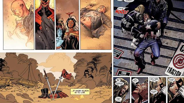 Cerita Kematian Superhero Marvel, dari Kematian Spider-Man sampai Deadpool