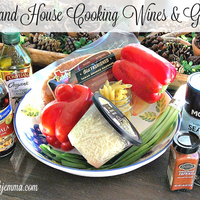 Holland House Cooking Wines Giveaway & Recipe