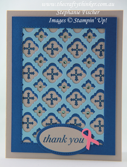 #thecraftythinker  #stampinup  #florentinefiligree #cardmaking , Florentine Filigree, Stampin' Up Australia Demonstrator, Stephanie Fischer, Sydney NSW