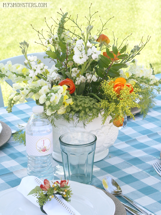 Top 5 Tips for Hosting a Memorable Outdoor Party this Spring at my3monsters.com