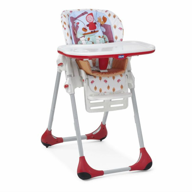 empty highchair