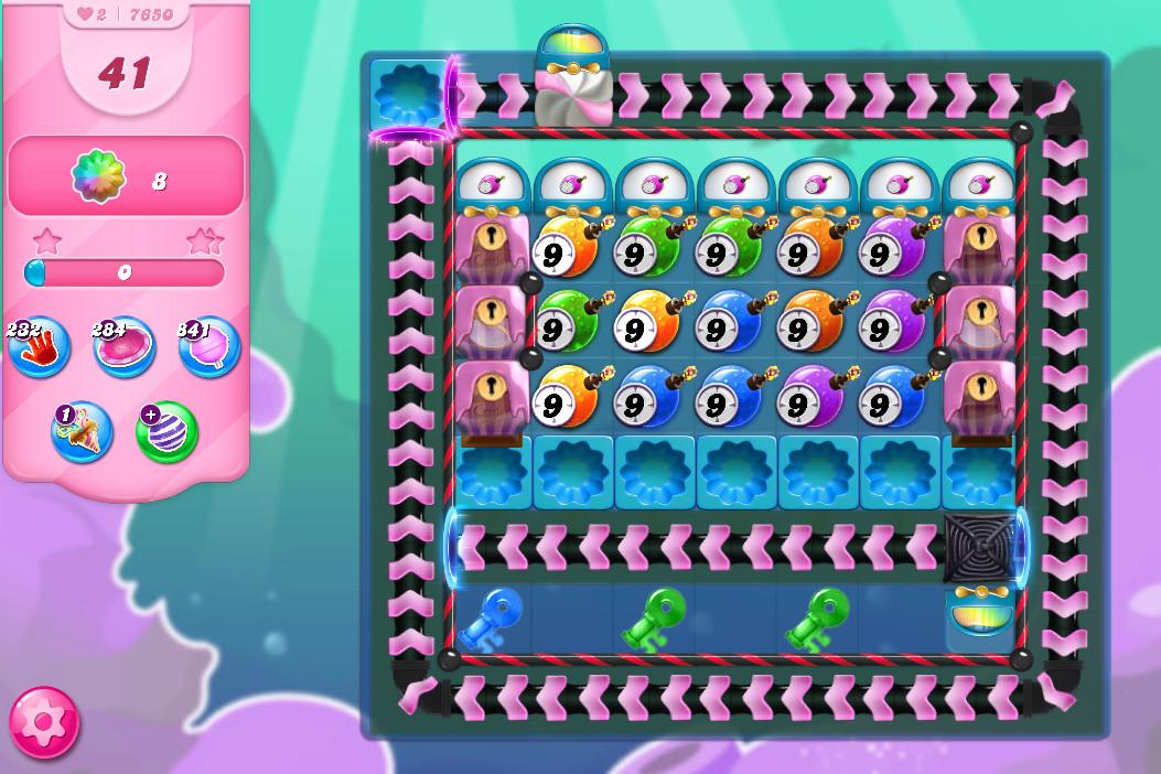 Candy Crush Saga level 7650