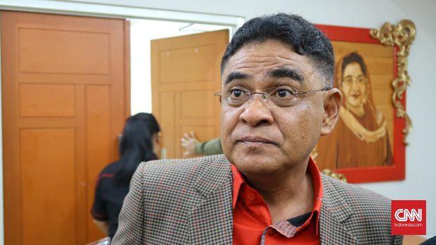 PDIP Akui Cari Dukungan HRS Lewat Ma'ruf Amin