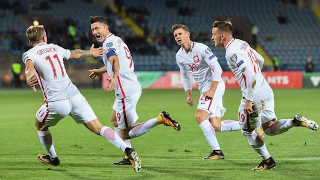 Polonia está a la orilla de la clasificación a Rusia 2018 tras golear a Armenia.