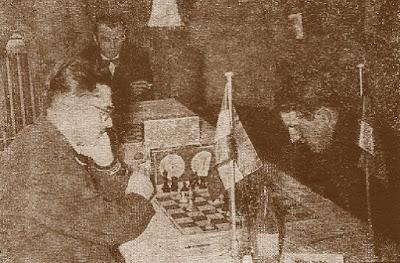 Partida Maric (Yugoslavia) - Mülhberg (Alemania) del III Campeonato Mundial Universitario de Ajedrez - Uppsala 1956