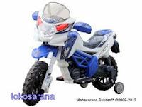Motor Mainan Aki Pliko PK7328N MotoCross