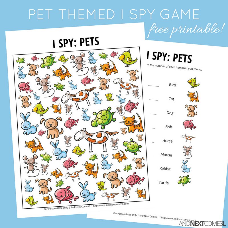 image relating to I Spy Printable referred to as Dog Themed I Spy Match Totally free Printable for Small children And Up coming