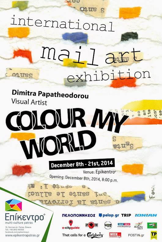 "INTERNATIONAL MAIL ART EXHIBITION: ""COLOUR MY WORLD''"