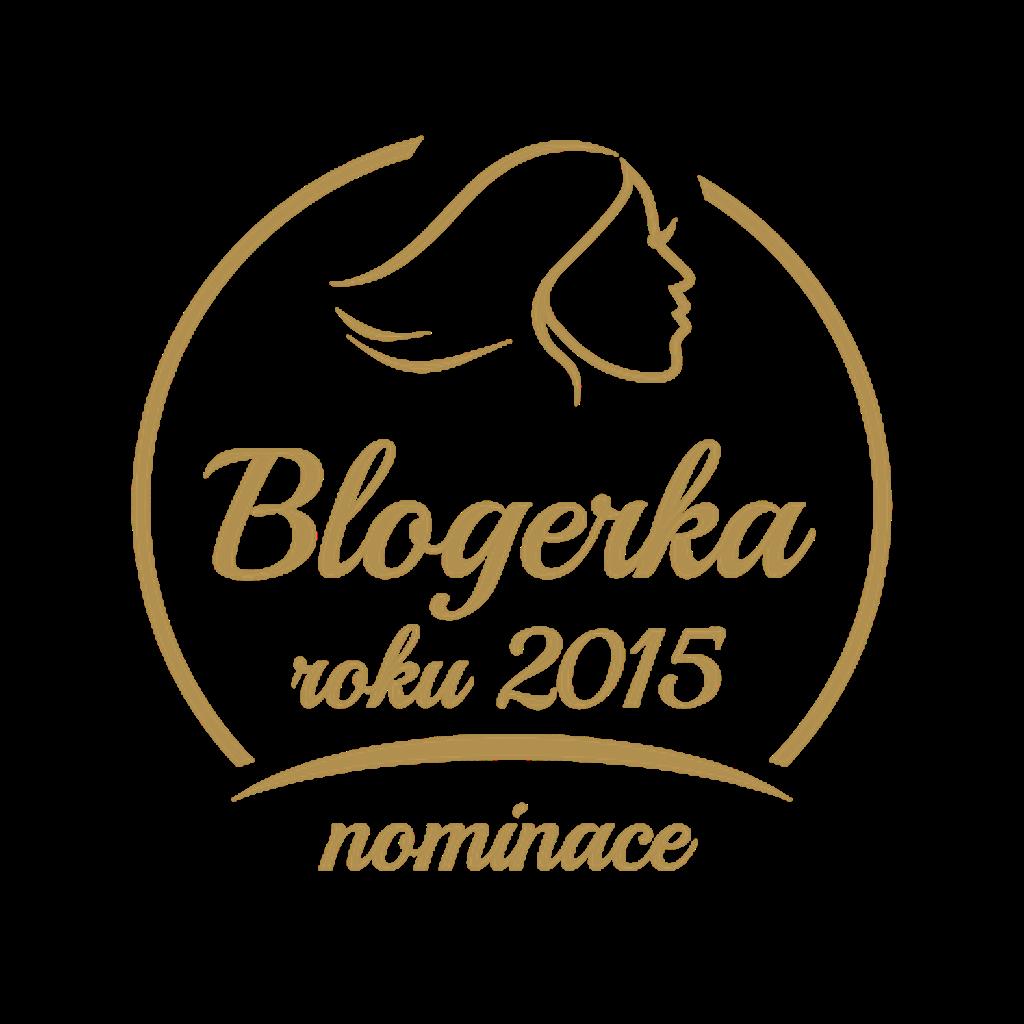 6. místo v anketě Blogerka roku 2015
