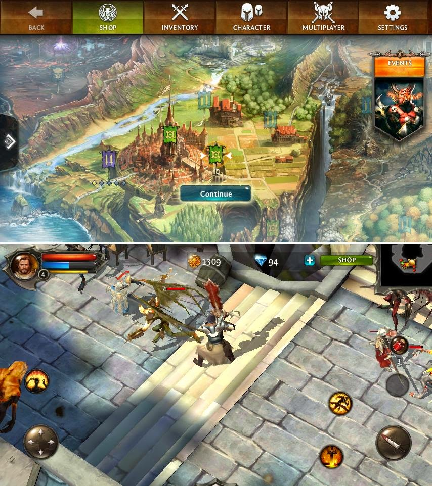 O Plus USA Fab GO Review: Big Move Dungeon Hunter 4