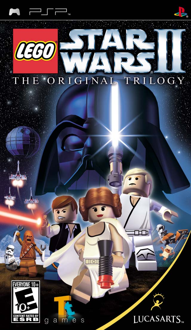 Lego Star Wars II - The Original Trilogy  - PSP - ISO Download