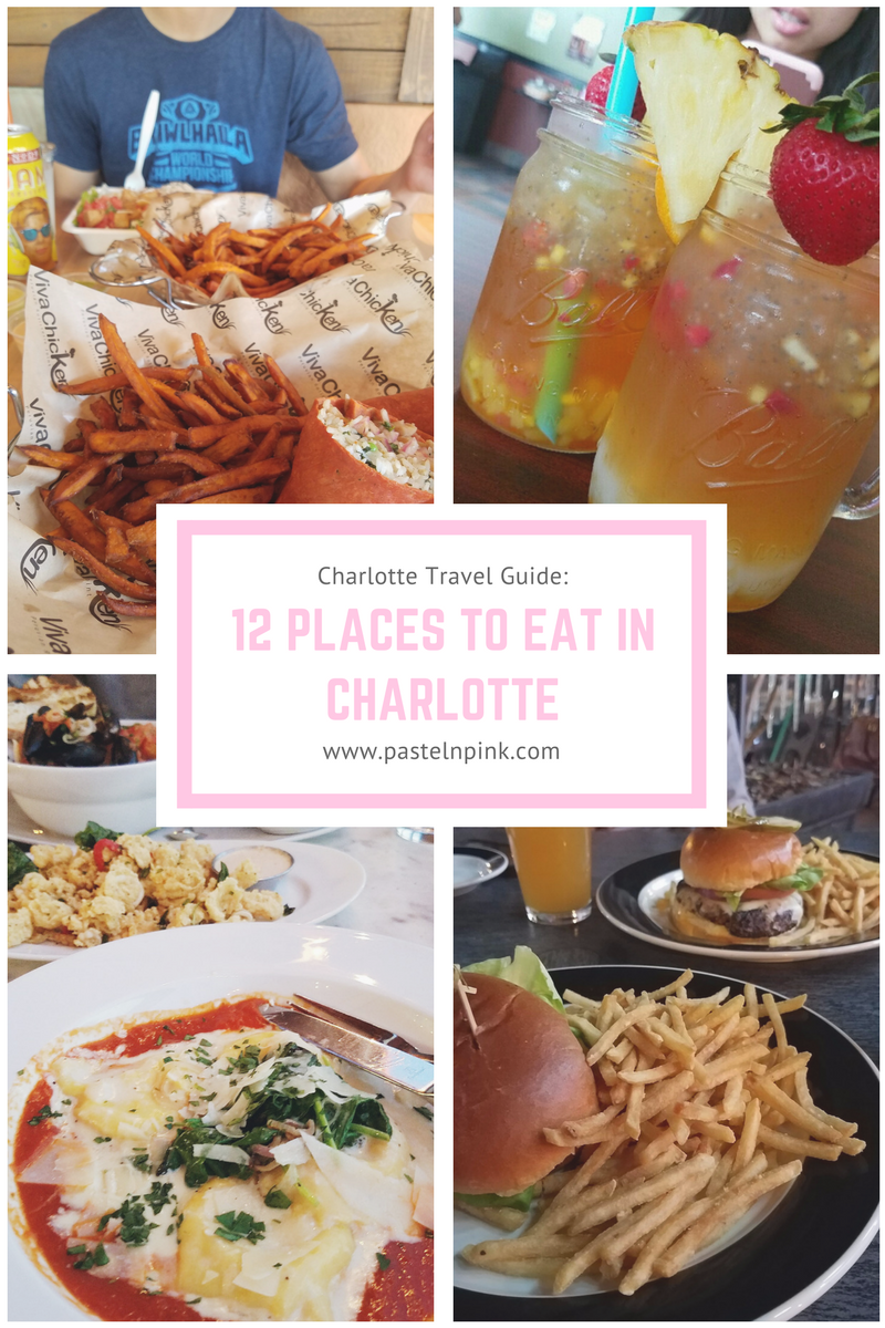 12 places to eat in Charlotte, North Carolina