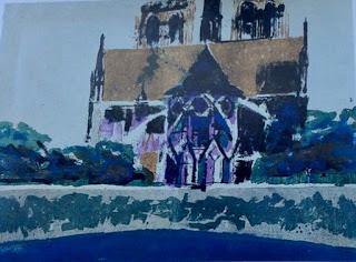 Untitled (Notre Dame) Pauline Boty, 1957