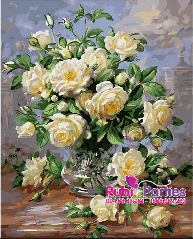 Tranh son dau so hoa tai Khuong Thuong