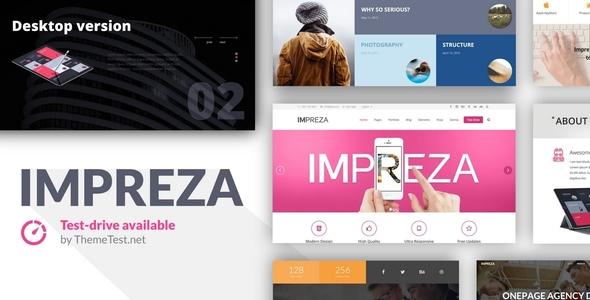 Free Download Impreza V2.7 - Retina Responsive WordPress Theme
