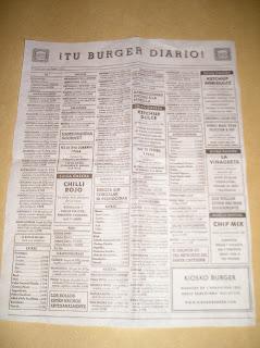 papel hamburguesa
