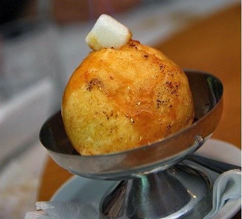 Fried Ice Cream With Cinnamon Dip