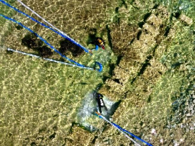 Ευρήματα στο αρχαίο λιμάνι του Λέχαιου της Κορίνθου
