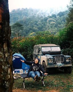Paket Offroad Camp Gunung Pancar
