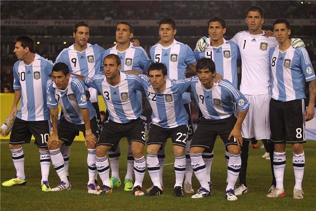Formación de Argentina ante Chile, Clasificatorias Brasil 2014, 7 de octubre de 2011