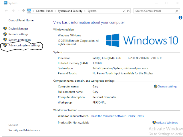 How to increase the Virtual RAM in Windows
