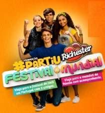 Promoção Partiu Richester 2018 Festival Mundial Cadastro