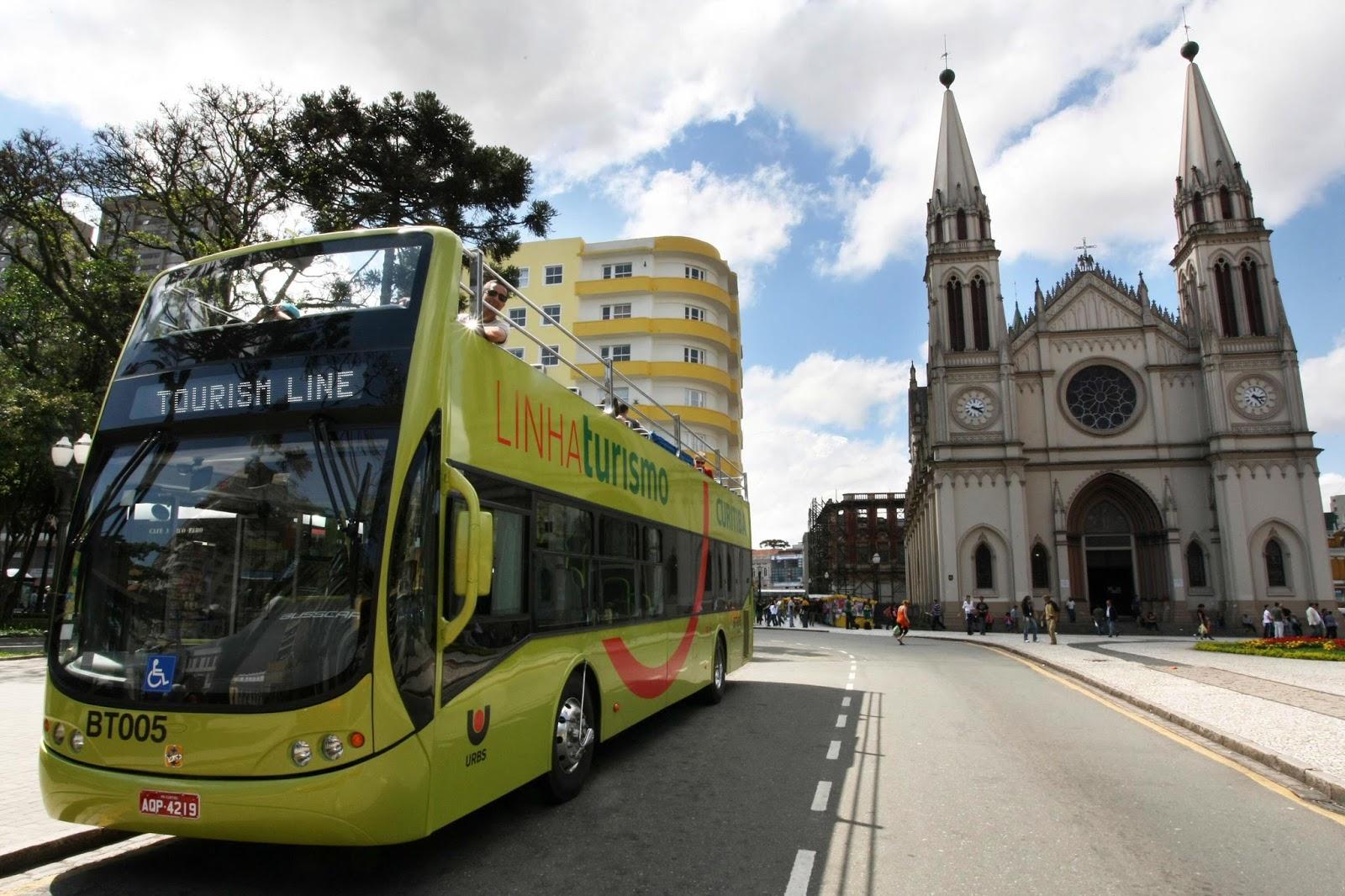 Linha Turismo de Curitiba terá bilhete eletrônico com embarque ilimitado