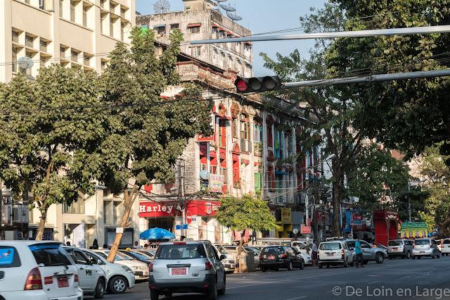 Quartier Colonial-Yangon-Myanmar-Birmanie